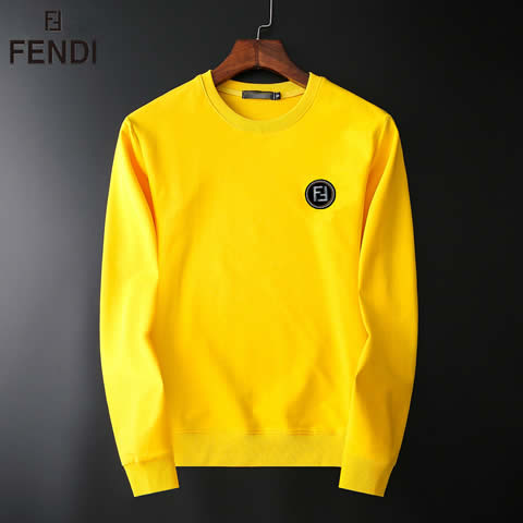 Replica Fendi Jackets&Hoodies For Men