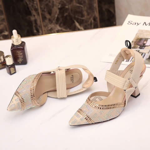 Replica High Quality Fendi Shoes For Women