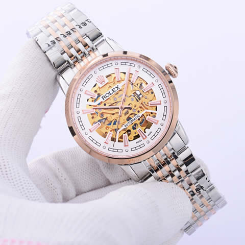 Replica Knock off  hollow-carved Mechanical  Watches for Men